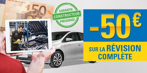 -50€ sur la révision complète