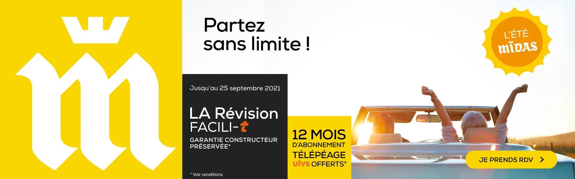 LA Révision Facili-t : 12 mois d'abonnement télépéage ULYS offerts
